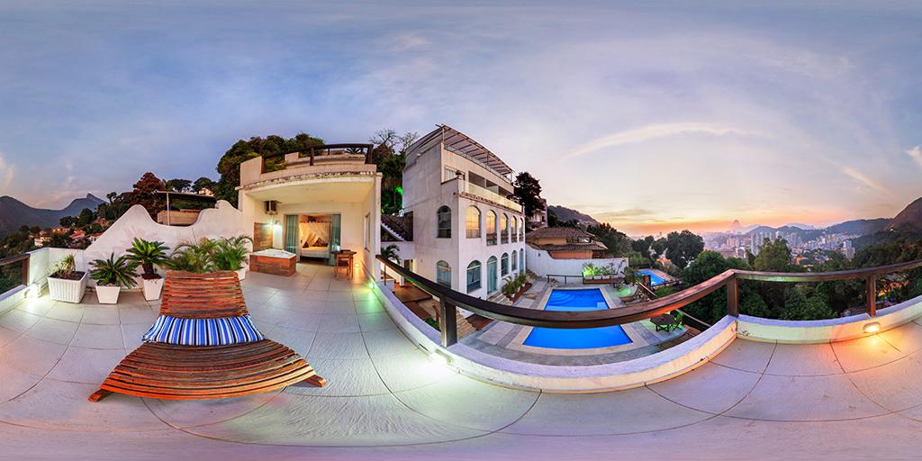 Hotel The Villa em 360 graus.