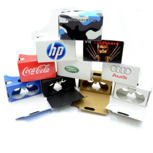 Card board personalizado, para apesentaçoes em realidade virtual