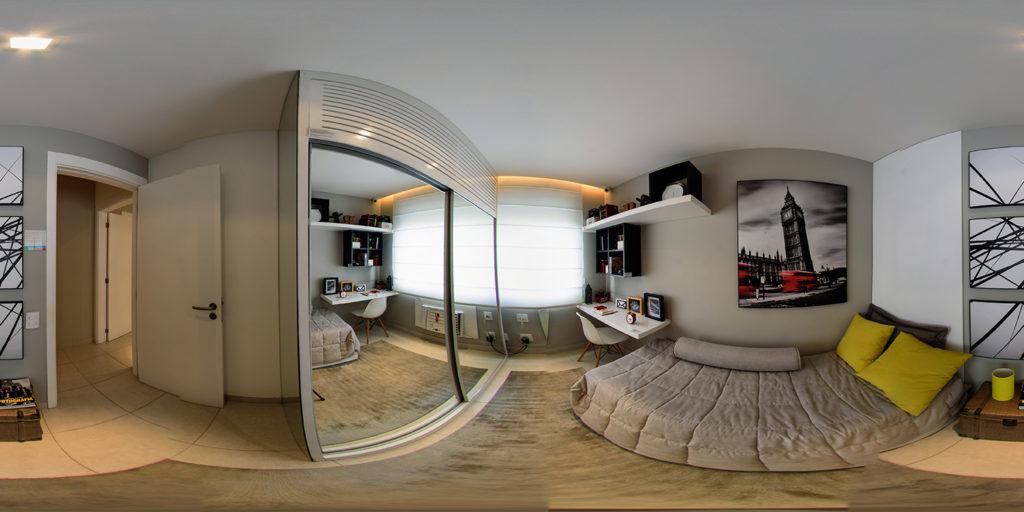 apartamento decorado em 360 graus